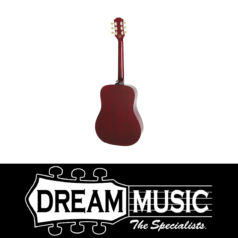 Epiphone Pro 1 Wine Red Acoustic Guitar Save 62 Off Rrp