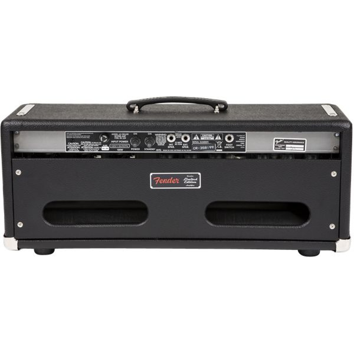 fender 39 65 deluxe reverb guitar amplifier head. Black Bedroom Furniture Sets. Home Design Ideas