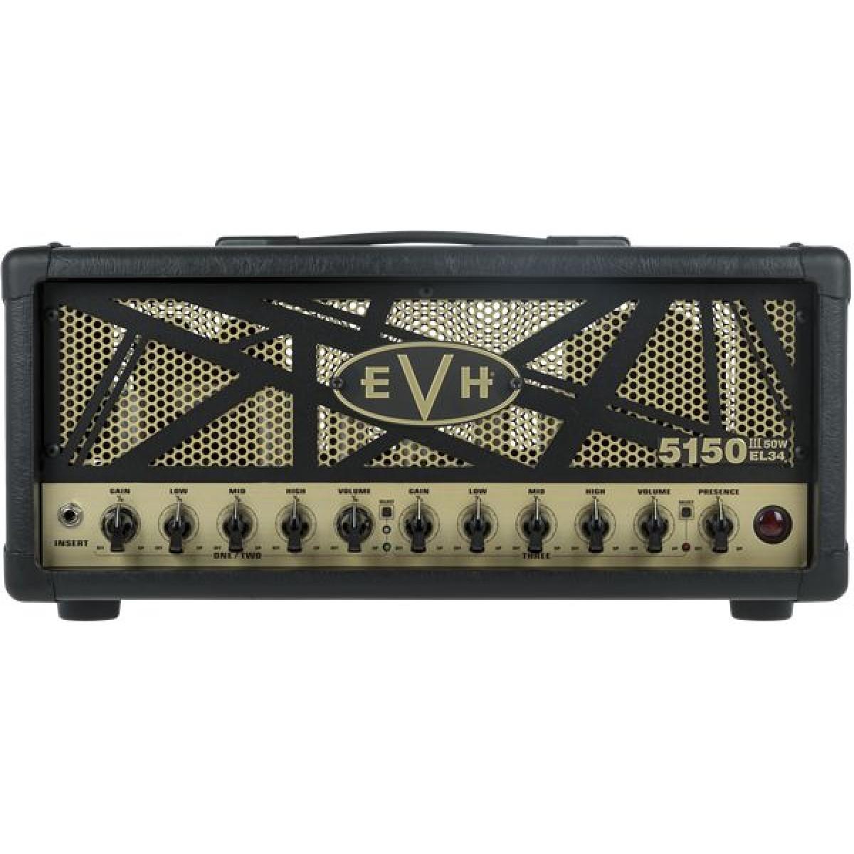 evh 5150iii 50w el34 guitar amplifier head. Black Bedroom Furniture Sets. Home Design Ideas