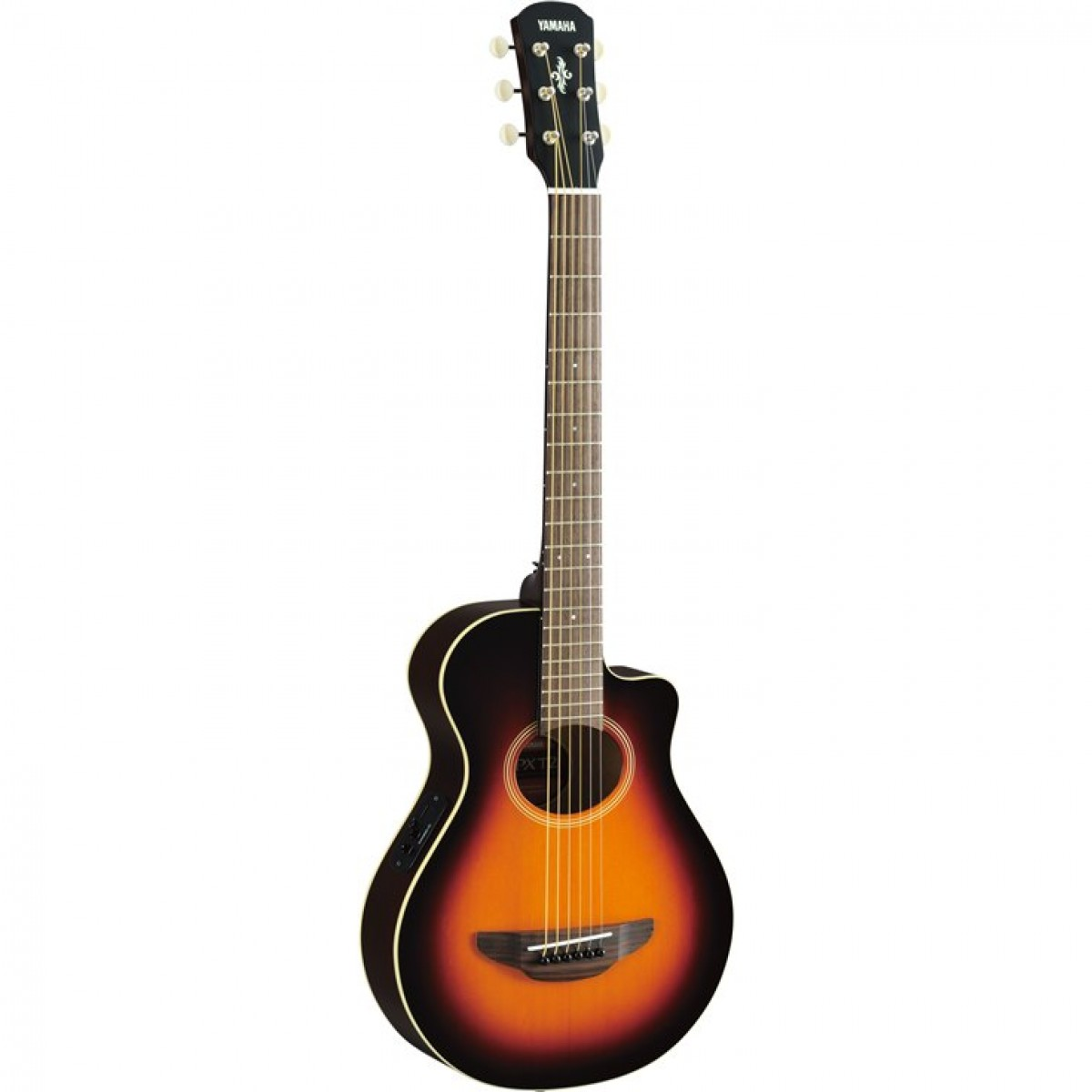 yamaha apxt2 3 4 size traveller acoustic electric guitar violin sunburst. Black Bedroom Furniture Sets. Home Design Ideas
