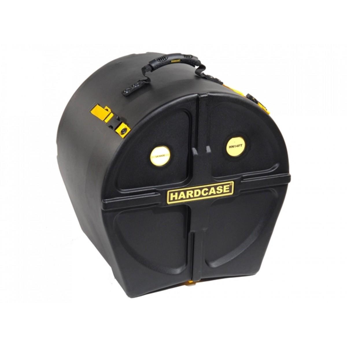 Hardcase standard black 14 short floor tom case for 14 floor tom for sale