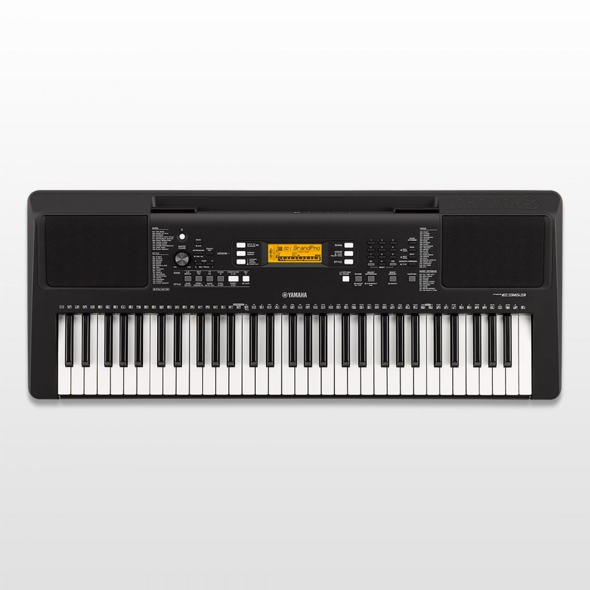 yamaha psr e363 61 key portable keyboard. Black Bedroom Furniture Sets. Home Design Ideas