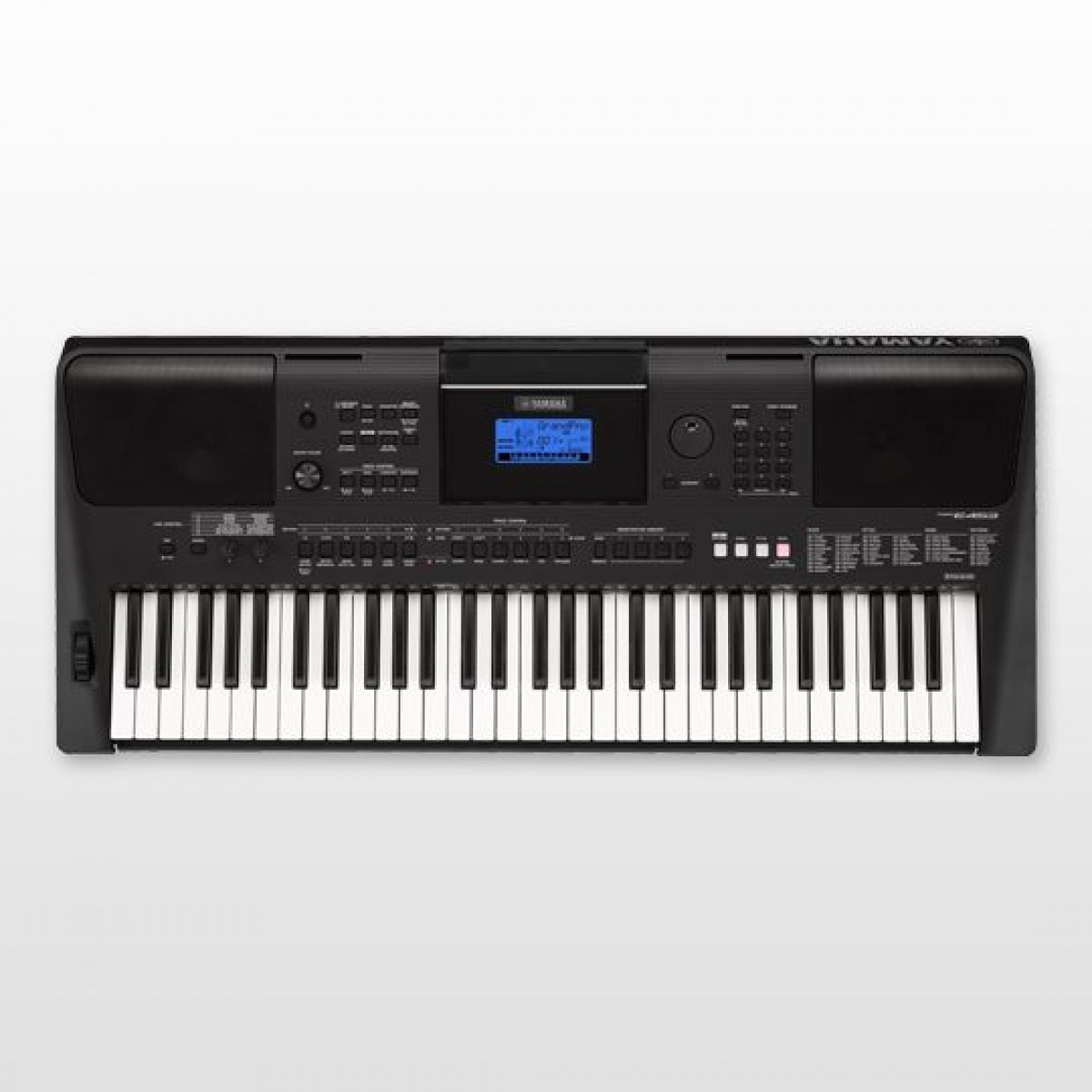 yamaha psr e453 61 key portable keyboard. Black Bedroom Furniture Sets. Home Design Ideas