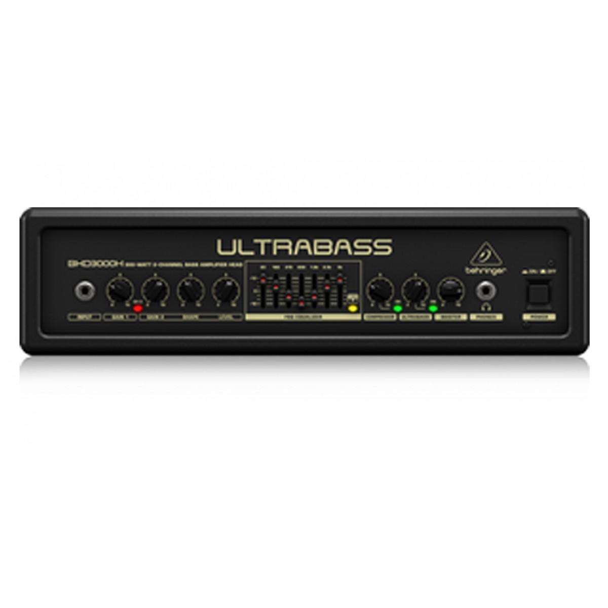 behringer ultrabass bxd3000h bass head. Black Bedroom Furniture Sets. Home Design Ideas