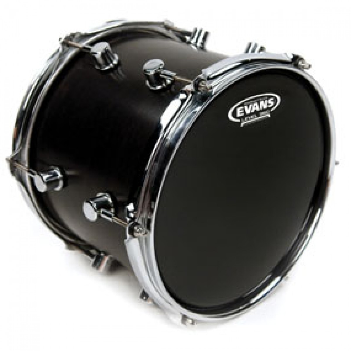 evans tt08rbg resonant black drum head skin 8. Black Bedroom Furniture Sets. Home Design Ideas
