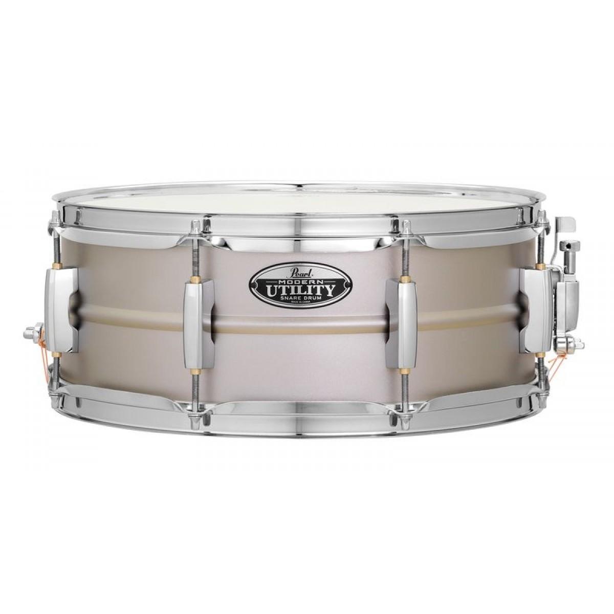 pearl modern utility snare drum 14 x5 5 steel. Black Bedroom Furniture Sets. Home Design Ideas