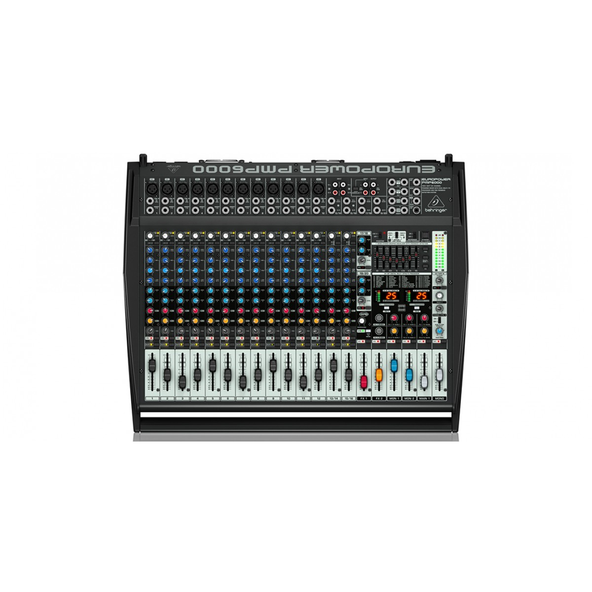 behringer europower pmp6000 powered mixer. Black Bedroom Furniture Sets. Home Design Ideas