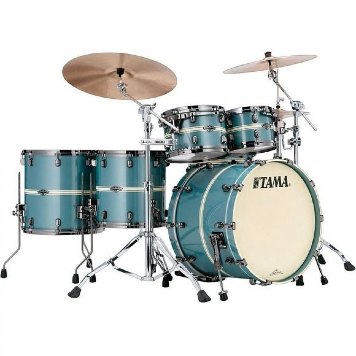 tama starclassic performer birch bubinga limited edition 6pce shell pack electron blue. Black Bedroom Furniture Sets. Home Design Ideas