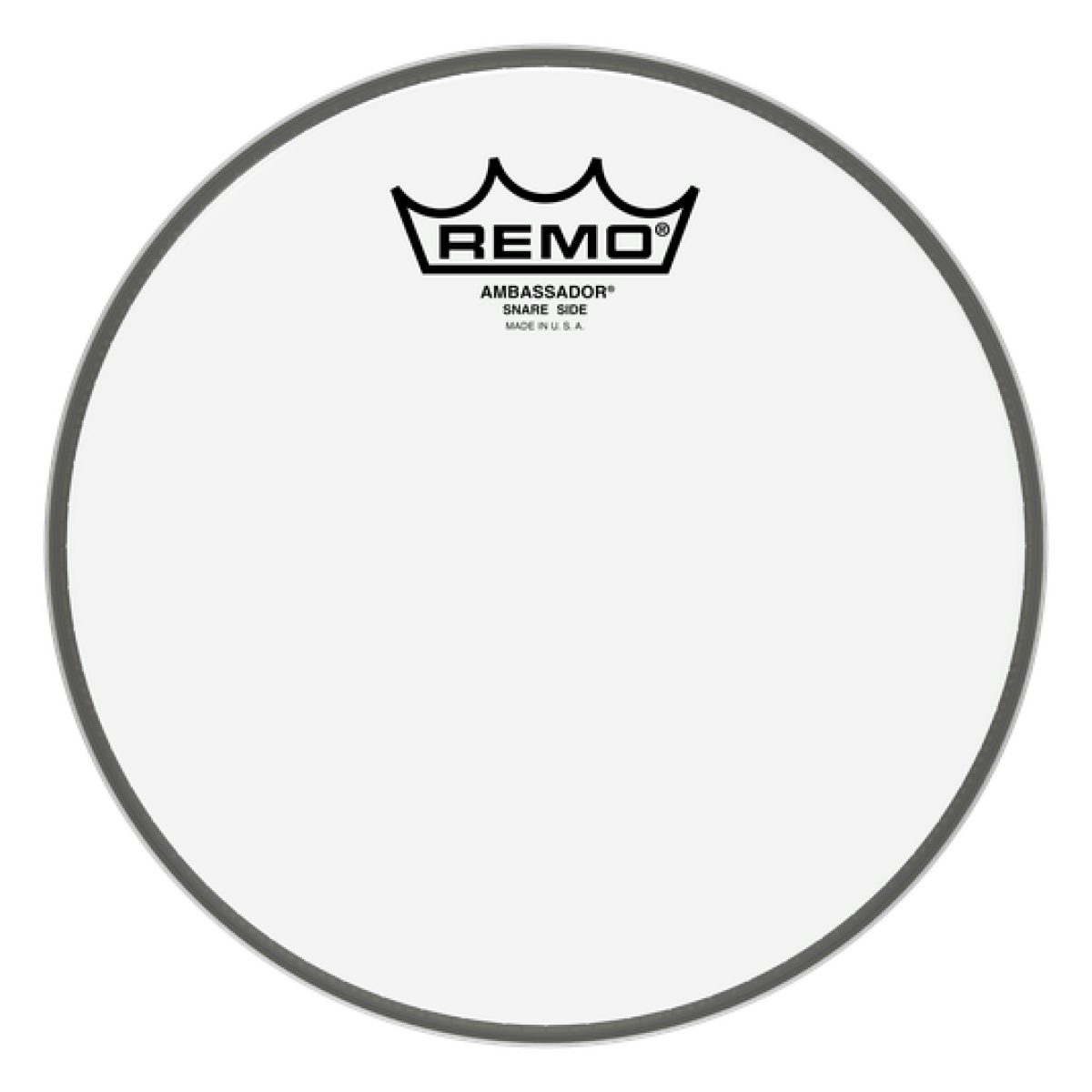 remo sa 0108 00 8 ambassador hazy snare side drum head skin. Black Bedroom Furniture Sets. Home Design Ideas