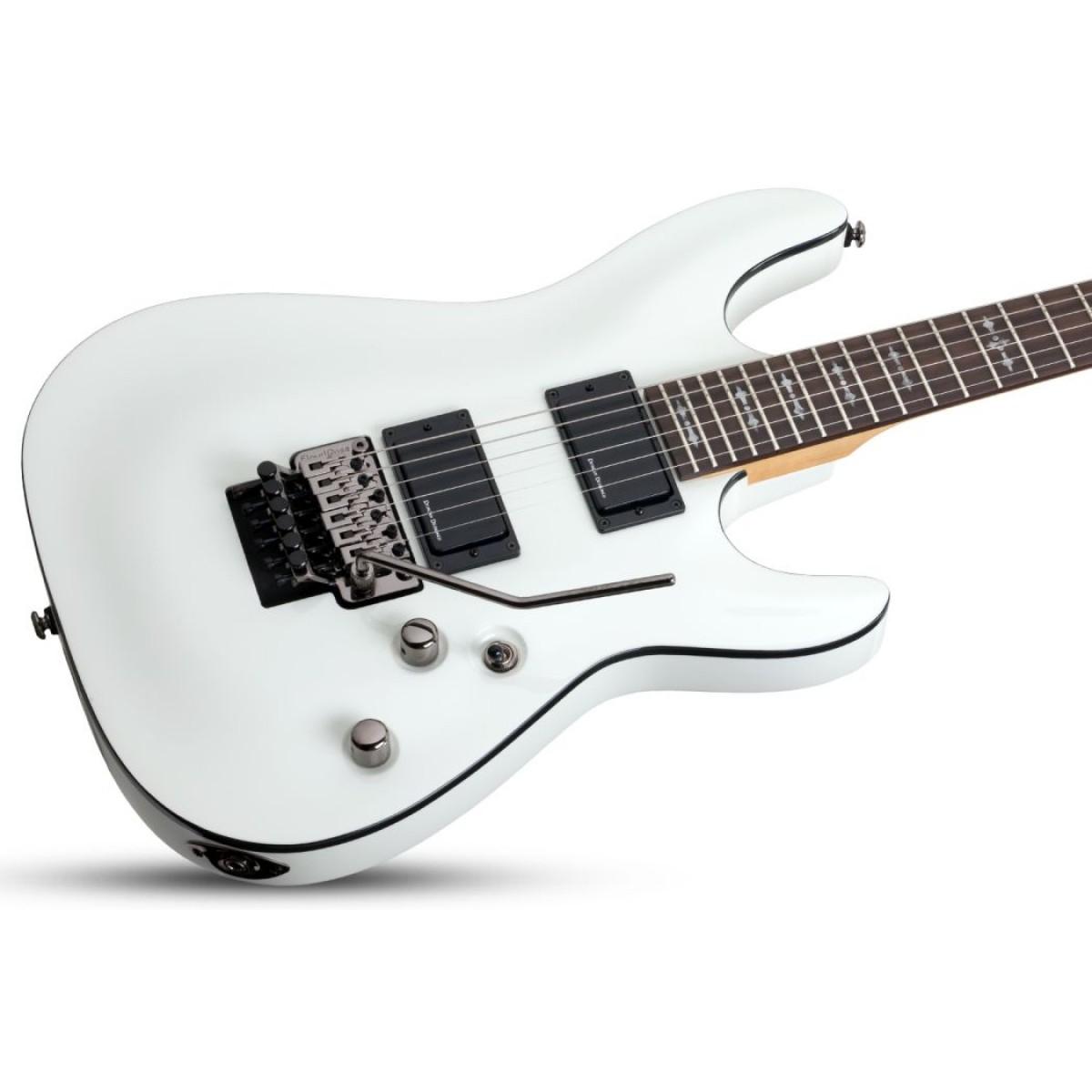 schecter sch3246 demon 6 fr vwht electric guitar. Black Bedroom Furniture Sets. Home Design Ideas