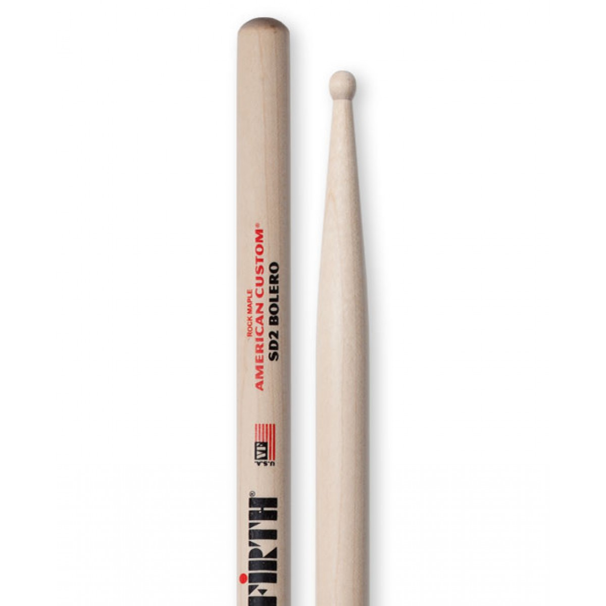 vic firth sd2 american custom sd2 bolero drum sticks. Black Bedroom Furniture Sets. Home Design Ideas