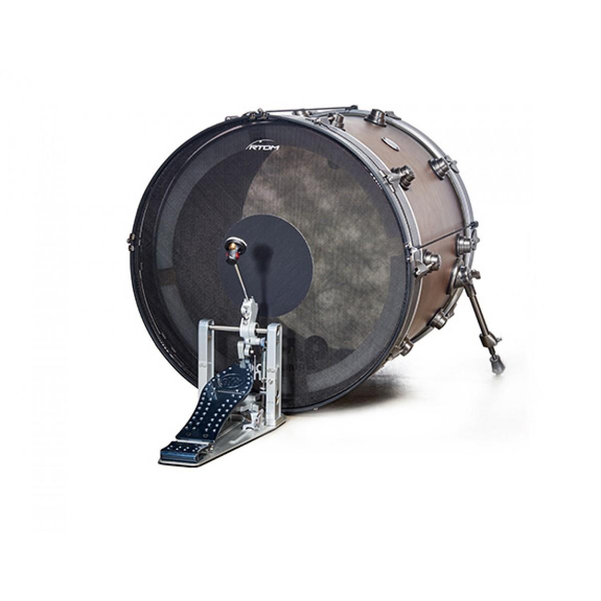 rtom black hole 20 bass drum practice pad blkhol20. Black Bedroom Furniture Sets. Home Design Ideas