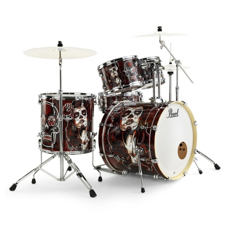 Pearl Export EXA Catrina's Cry 5 Piece Drum Kit Shell Set  - LIMITED EDITION!
