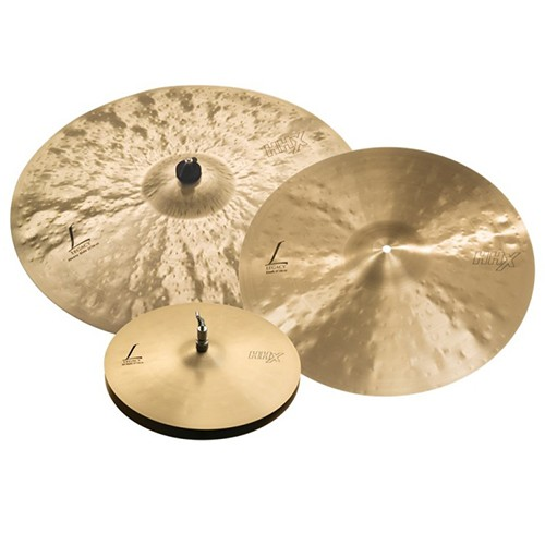 "Sabian HHX Legacy Cymbal Set - 15"" Hi-hats - 19"" Crash - 22"" Heavy Ride"
