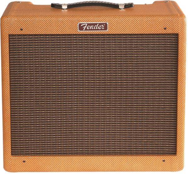 "Fender - Blues Junior Lacquered Tweed, 1x12"" Jenson C-12N 15W Combo Guitar Amplifier"