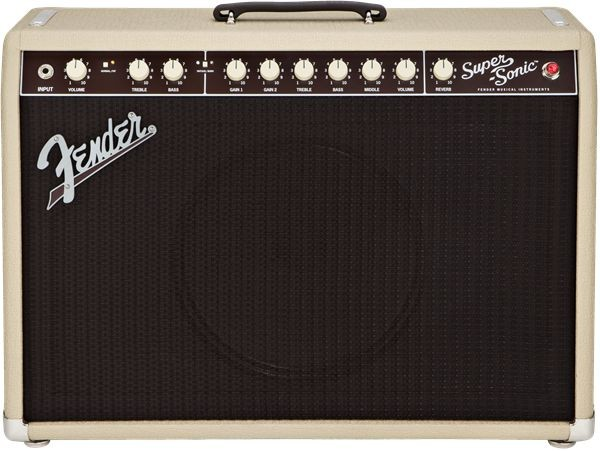 "Fender - Super-Sonic 22 - Blonde - 1x12"" Combo Guitar Amplifier"