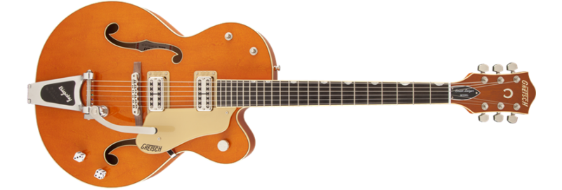 Gretsch - Brian Setzer Nashville with Bigsby, TV Jones Setzer Pickups, Vintage Orange Stain