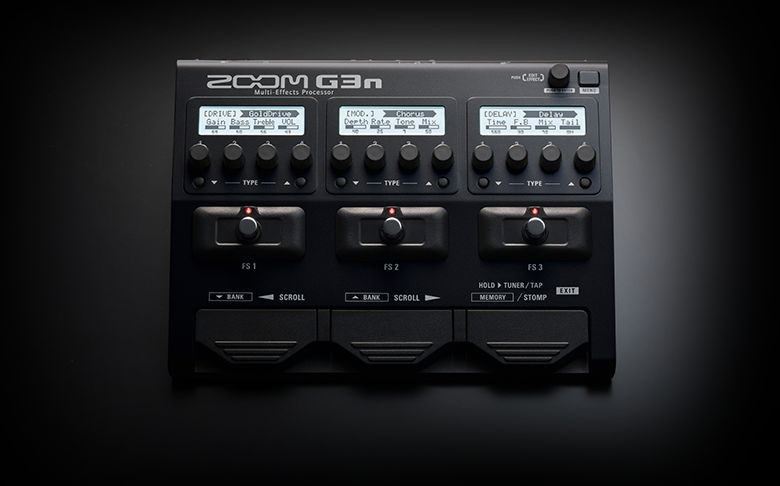 zoom g3n guitar multi effects amp simulation processor. Black Bedroom Furniture Sets. Home Design Ideas