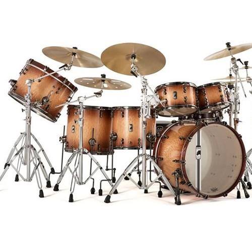 Mapex Black Panther Design Lab Versatus 6 Piece Drum Kit Shell Set - Peach Burl Burst Finiah