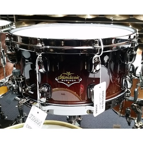 Tama 14 x 6.5 Starclassic Bubinga Elite Snare Drum Limited Edition - Natural Cordia Fade Finish