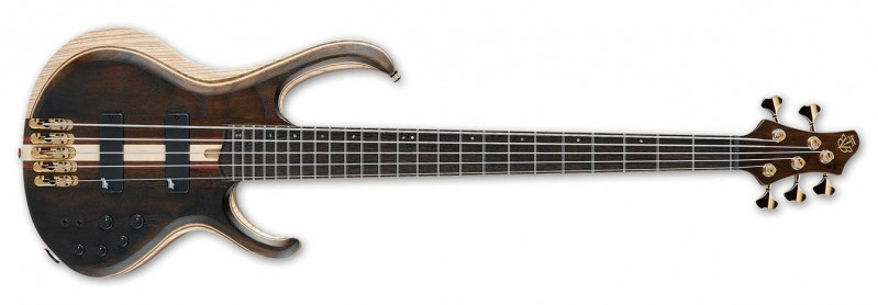 Ibanez Premium BTB1805 5-String Bass - Natural Low Gloss