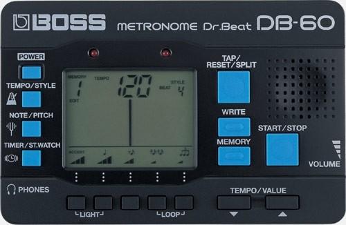 BOSS – DB-60 DR. BEAT METRONOME