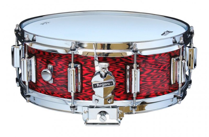 Rogers Beavertail Snare Drum Model No. 36-RO Red Onyx