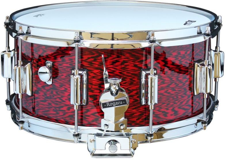 Rogers Beavertail Snare Drum Model No. 37-RO Red Onyx