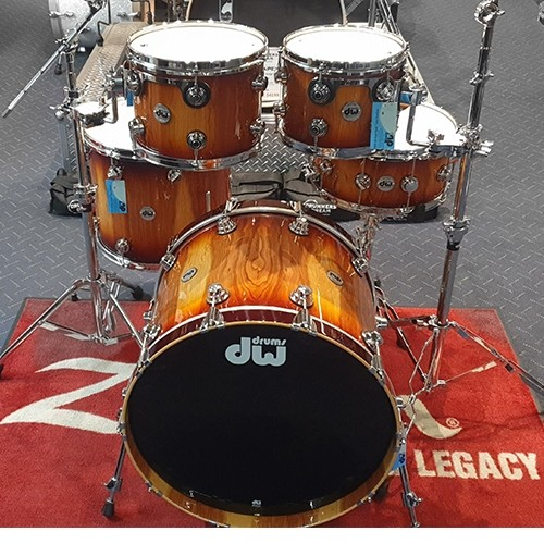 DW Collectors Series Pure Almond 5 Piece Drum Kit Shell Set - Limited Edition
