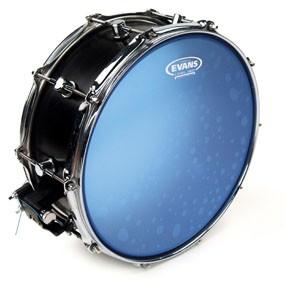 "Evans B14HB Hydraulic Blue Snare Batter Drum Head Skin 14"""