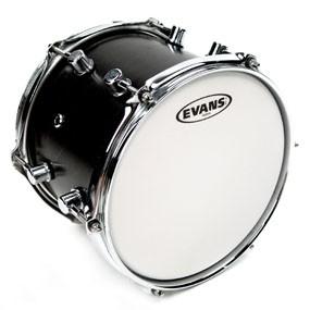 "Evans B15G12 G12 Coated White Drum Head Skin 15"""