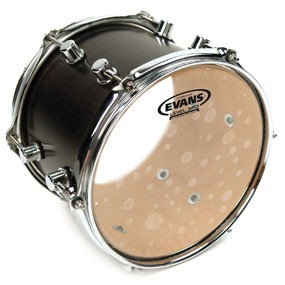 "Evans TT12HG Hydraulic Glass Drum Head Skin 12"""