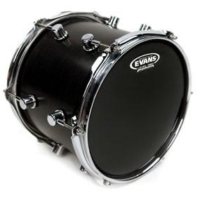 "Evans TT18RBG Resonant Black Drum Head Skin 18"""