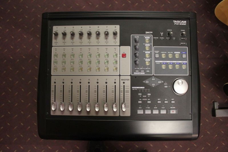 TASCAM FW-1082 Audio / MIDI Interface and Mixer Control Surface