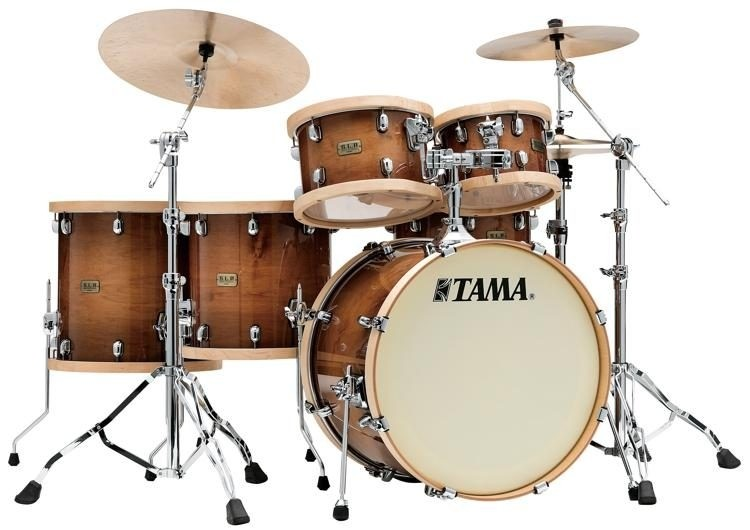 TAMA S.L.P STUDIO 5 PIECE MAPLE SHELL KIT - GLOSS SIENNA FINISH
