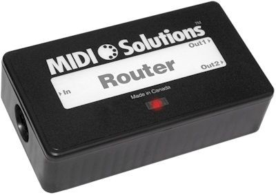 Midi Solutions MultiVoltage 2 Output Midi Router Filter