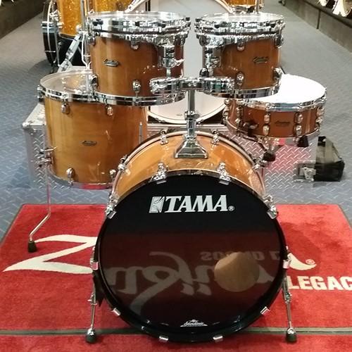 Limited Edition Tama Starclassic Performer Walnut/Kapur 5 Piece Drum Kit Shell Set - Kapur Outer Natural Finish
