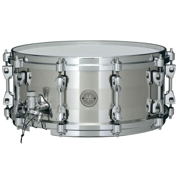"""Tama Starphonic Snare Drum 14"""" x 6"""" Stainless Steel 1.0mm Shell PSS146"""