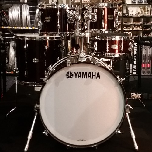 Yamaha Recording Custom Birch 5 Piece Drum Kit with Hardware Set - Classic Walnut Finish