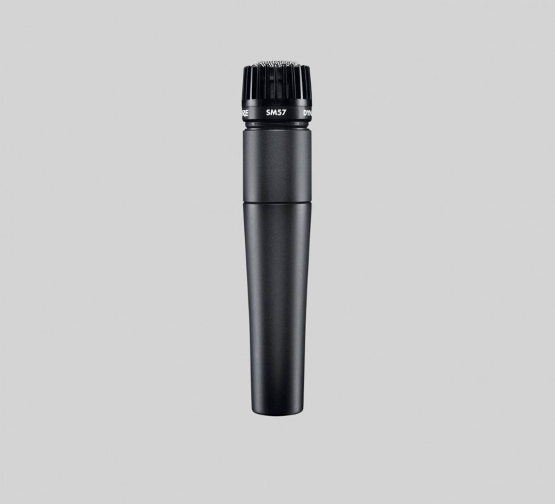 SHURE – SM57 – DYNAMIC INSTRUMENT MICROPHONE