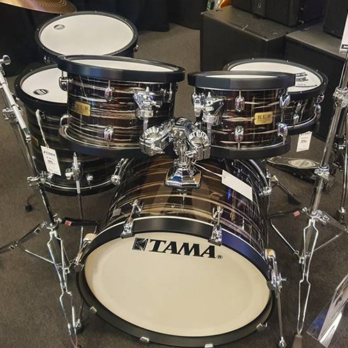Tama S.L.P Studio Maple 6 Piece Drum Kit Shell Set Limited Edition - Lacquered Oyster