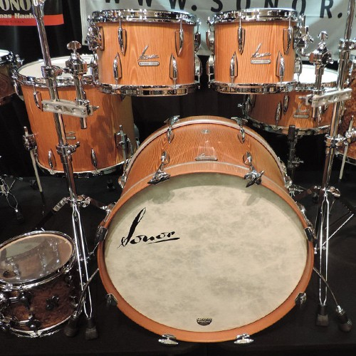 SONOR VINTAGE SERIES – 5 PIECE BEECH DRUM KIT SHELL SET - NATURAL FINISH