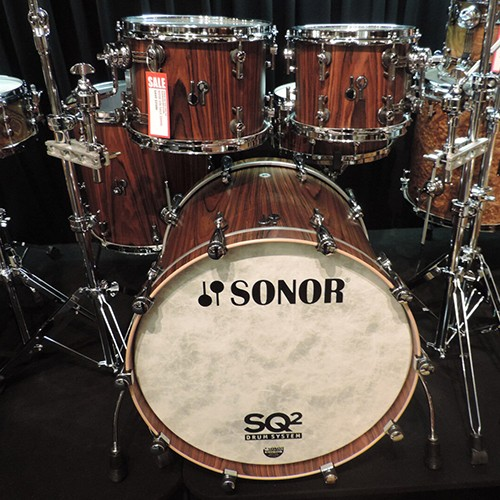 SONOR SQ2 – 5 PIECE MAPLE DRUM KIT SHELL SET- ROSEWOOD
