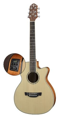 CRAFTER – TRV23EQ TAVELLER ACOUSTIC ELECTRIC GUITAR