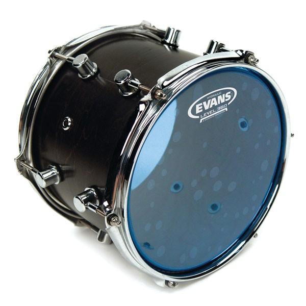 """Evans TT14HB Hydraulic Blue Drum Head Skin 14"""""""
