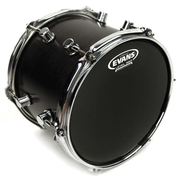 "Evans TT20HBG Hydraulic Black Drum Head Skin 20"""