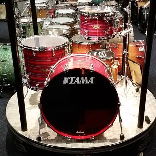 "Tama Starclassic Walnut/Birch 3 Piece Drum Kit 22"" Shell Set - Lacquer Phantasm Oyster"
