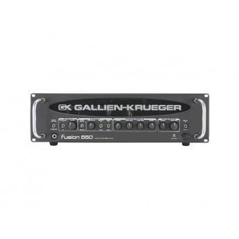 GALLIEN-KRUEGER – FUSION 550 500W BASS AMPLIFIER HEAD