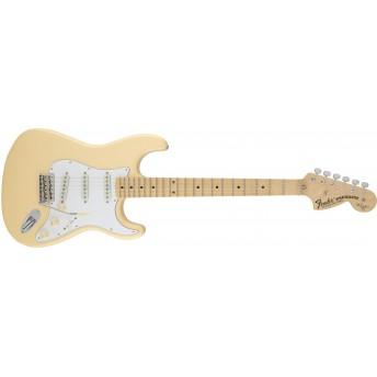 Fender Yngwie Malmsteen Stratocaster, Scalloped Maple Fingerboard, Vintage White