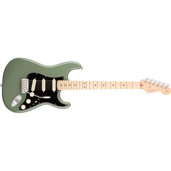 Fender American Pro Stratocaster, Maple Fingerboard, Antique Olive
